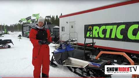 SnowRider TV - 2018 Arctic Cat Bearcat Groomer 7000 XT
