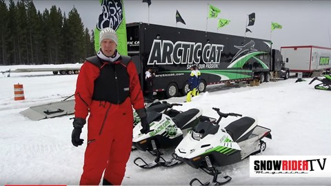 SnowRider TV - 2018 Arctic Cat ZR 200