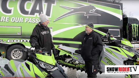 SnowRider TV - Arctic Cat Roadshow