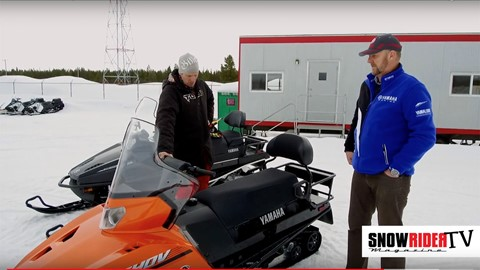 SnowRider TV - 2018 Yamaha Viking 540V