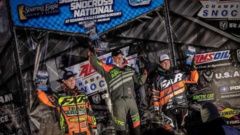 Resultat Amsoil Championship Snocross Nationals i Michigan