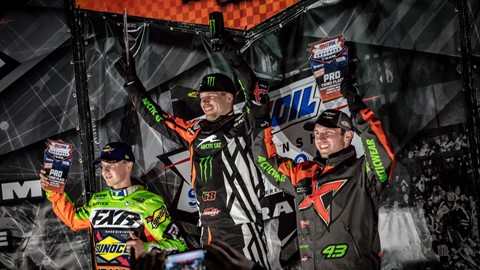 Resultat Amsoil Championship Snocross Nationals i Iowa