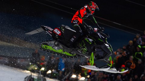 Tucker Hibbert 2018 Wisconsin Snocross National Video