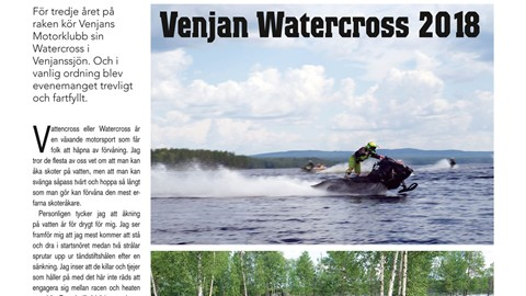 Venjan Watercross 2018