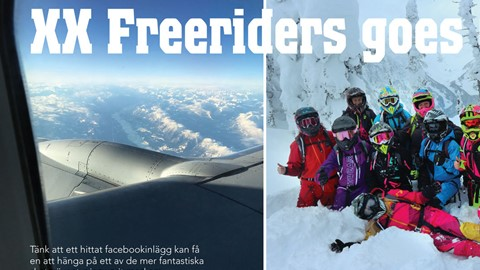 XX Freeriders goes Canada!