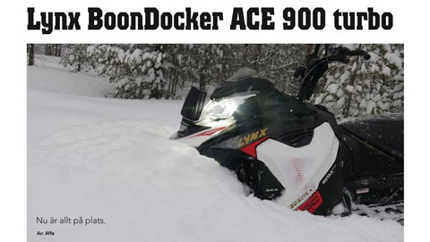 Lynx BoonDocker ACE 900 turbo