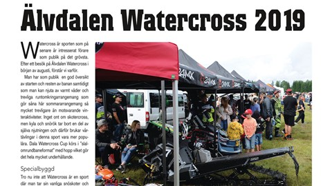 Älvdalen Watercross 2019