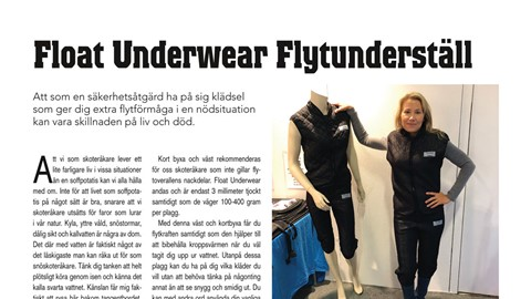 Float Underwear Flytunderställ