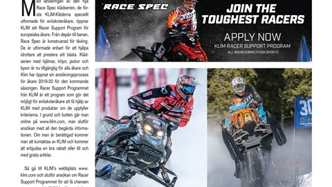 KLIM - Racer Support Program